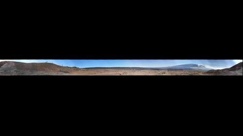 Mauna Loa Splatter Cone Quarry Site