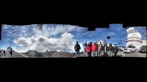 CASS group at Mauna Kea summit