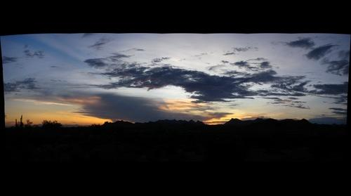 Sunset at the Superstitions