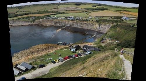 Kimmeridge Bay Dorset July 2011