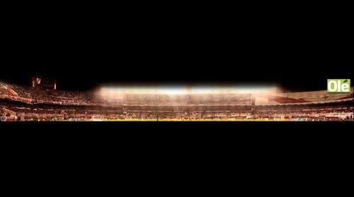 PanoramicTag - River Plate vs Chacarita - Tribuna San Martin