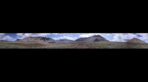 360 View of Himalayan Range from Sarchu village.