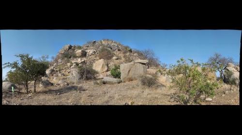 Volcanic kopje in Kruger National Park, South Africa