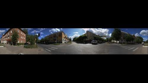 pr. Mira - ul. Lenina crossing