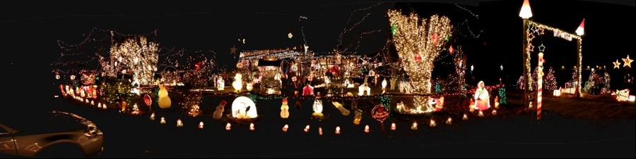 Yes, Virginia --- has some Christmas lights