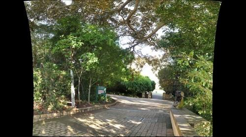 Entrance to Kirstenbosch National Botanical Gardens, Cape Town, South Africa.