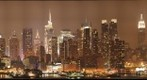 Nighttime Skyline of Manhattan from Hamilton Park, Weehawken, NJ
