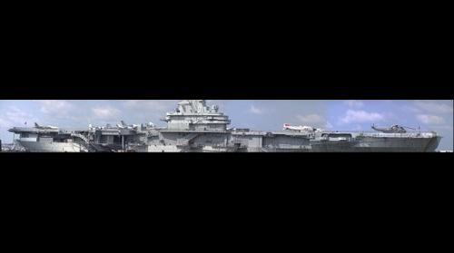 The aircraft carrier Yorktown at Charleston SC