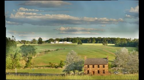 Gigapan of Stone House and Henry Hill at Manassas National Battlefield Park