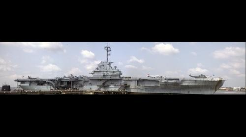 USS Yorktown at Charleston SC.
