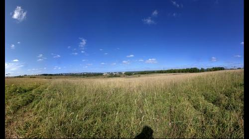 Another view of Kirovo-Chepetsk from grassy fields