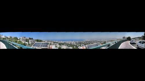 View from Ramat Almogi, Haifa