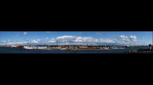 Litauen, Klaipeda Harbour
