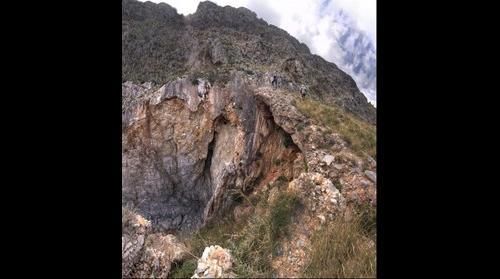 gerolimenas fault, vertical