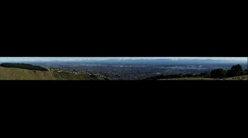 View of Christchurch from Huntsbury #4