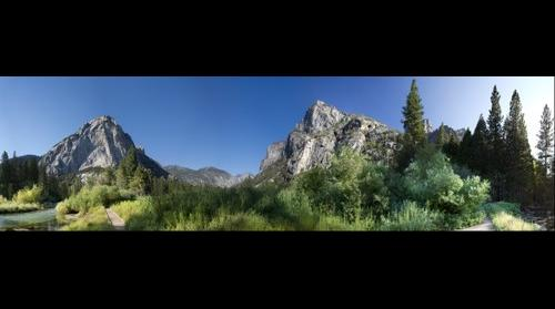 Zumwalt Meadow in Kings Canyon National Park.