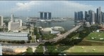 Singapore Marina Bay, City, Boat Quay and Formula One Race circuit construction  |  Matthew Holden