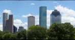 Houston, Texas: Downtown from the Historic Sixth Ward