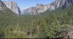Yosemite Valley View. Half Dome, El Capitan