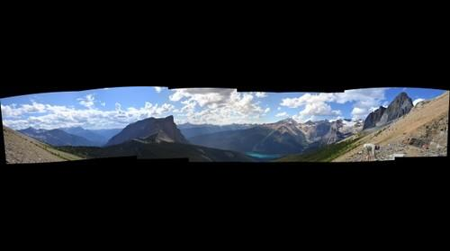 View From Walcott Quarry - Burgess Shale