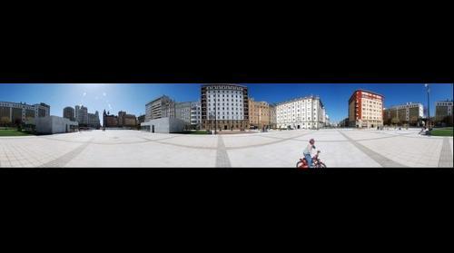Spain square, Ferrol, Corogne, SPAIN