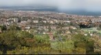 Eastbourne and surrounding areas taken from the top of East Dene Road