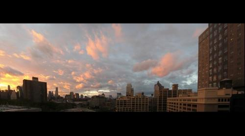 Sunset after Hurricane Irene