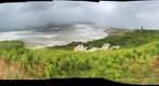 2011-08-28 During hurricane Irene; View from Gay Head looking West towards New Bedford and the Lighthouse, Aquinnah, MA, Martha&#39;s Vineyard