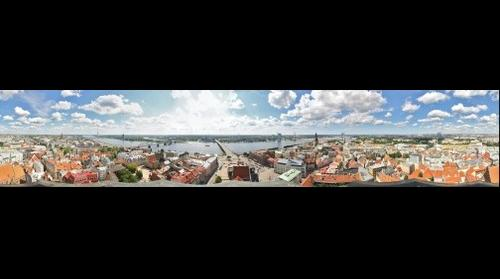 Riga from St. Peter's Church