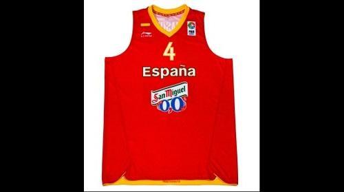 San Miguel 0,0% - Camiseta Seleccion de Baloncesto