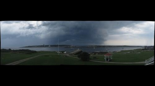Storm over Appledore Island
