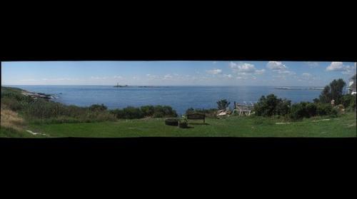 White Island from Pels Garden