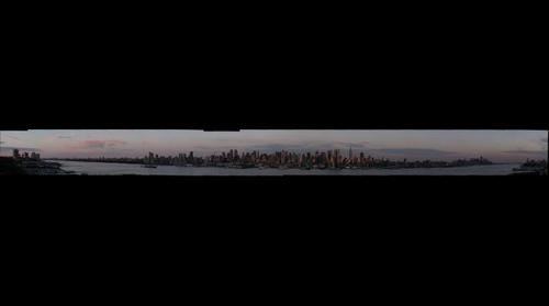New York Skyline at Dusk #1