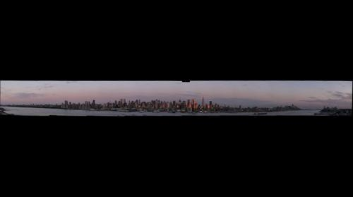 New York Skyline at Dusk #2