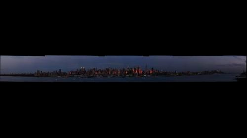 New York Skyline at Dusk #4
