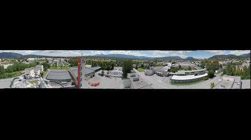 360 Villach Panorama aus dem Feuerwehrzentrum