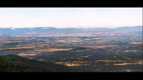 Talavera y Valle del Tajo desde El Pielago