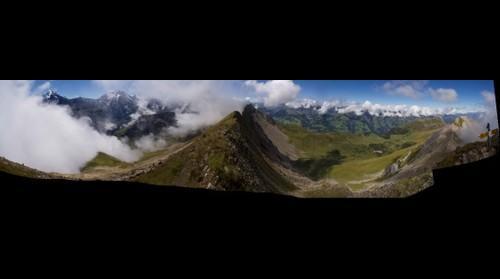 Kandersteg-Allmenalp First Summit View at 2548m