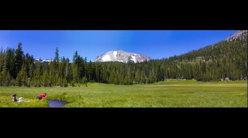 Mt. Lassen Dersch Meadows