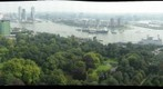 "View from the Euromast, Rotterdam, The Netherlands, during the ""Wereldhavendagen"" (World Harbour Days)"