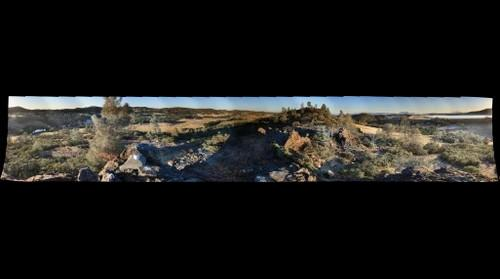 McLoughlin Reserve Panorama at Sunset 10Aug11