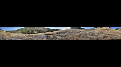 White Mountain-2 McLoughlin Nature Reserve Panoramo 10Aug11