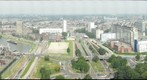 View from the Euromast, Rotterdam, Netherlands, Looking to the north