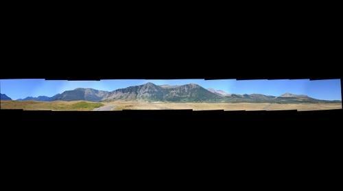 View of Crandell Mtn, Waterton
