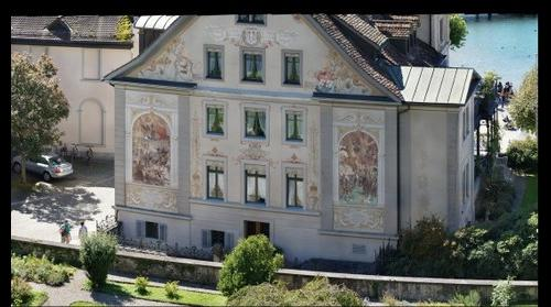 building paintings - rapperswil SG - schweiz