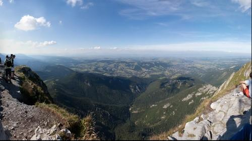 Zakopane from Giewont.