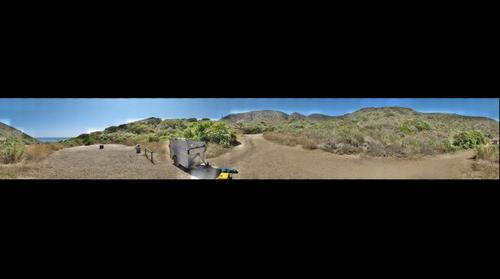 Ray Miller Trailhead, Point Mugu State Park, near Malibu, California