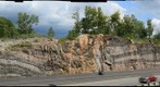 Roadcut at Parry Sound, Ontario