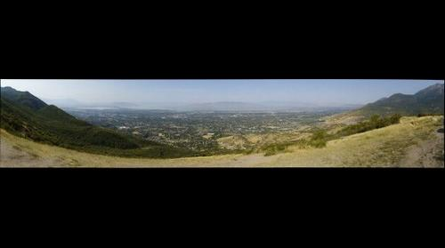 Utah Valley from Make Out Point