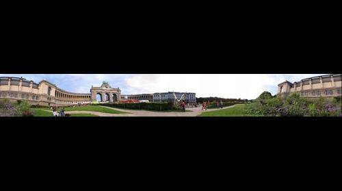 Park Cinquantenaire in Brussels